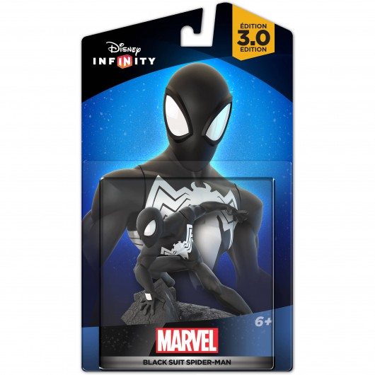Black Suit Spider-Man - Packaging