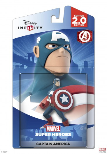 Captain America - Packaging