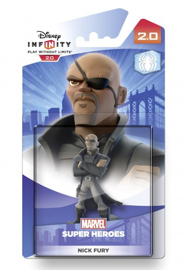 Nick Fury - Packaging (EU)