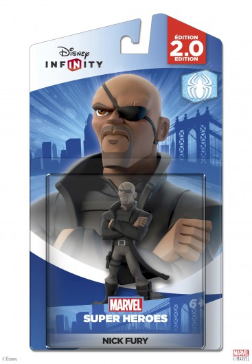 Nick Fury - Packaging