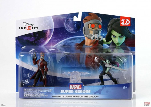 Guardians of the Galaxy Play Set - Packaging
