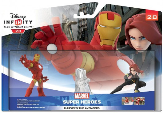 The Avengers Play Set - Packaging (EU)