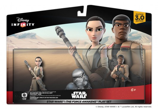 The Force Awakens Play Set - Packaging