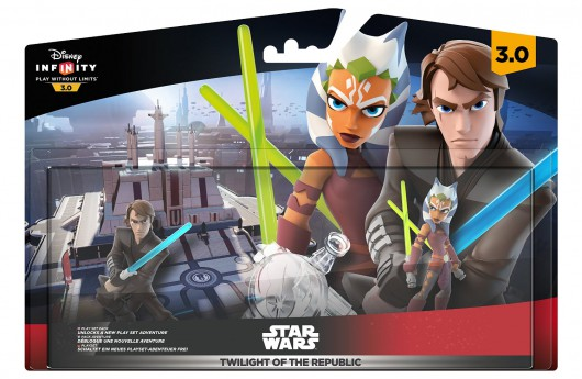 Twilight of the Republic Play Set - Packaging (EU)