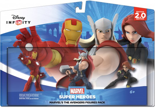 The Avengers Figures Pack - Packaging