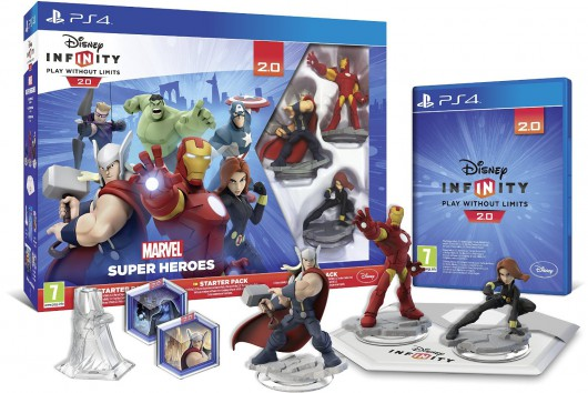 Starter Pack (Thor, Iron Man, Black Widow) - Packaging (EU)