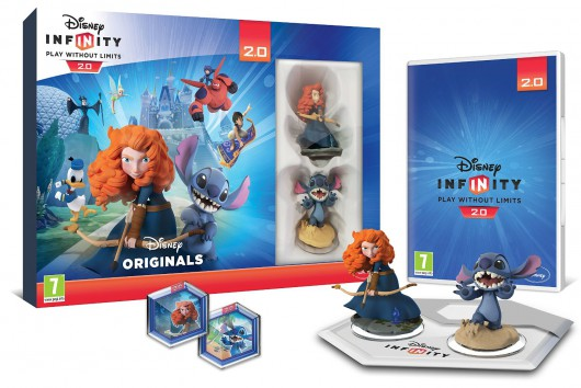 Toy Box Starter Pack (Merida, Stitch) - Packaging (EU)